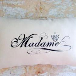 Madame Pillow, French Country Home, Paris Decor, French Decor, Cottage Decor