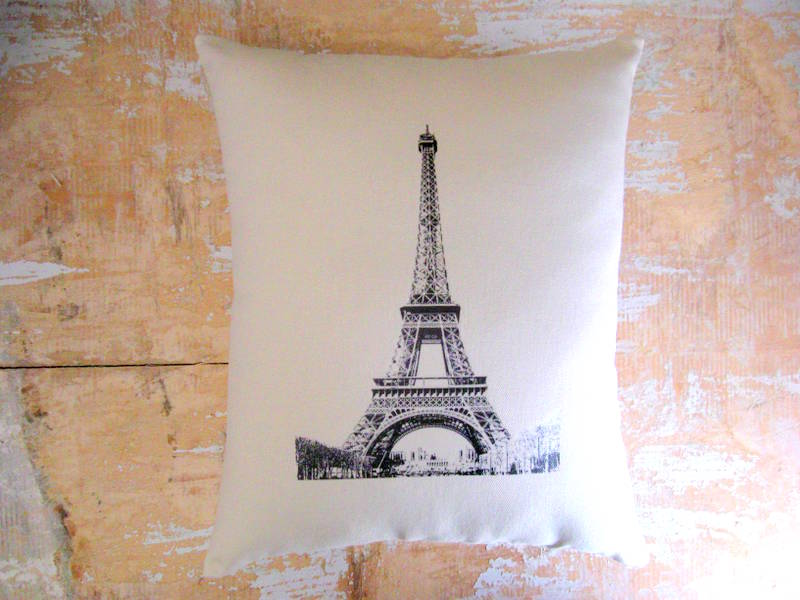 Http Www Luulla Com Product 18628 Eiffel Tower Pillow French Country Home French Decor Cottage Decor